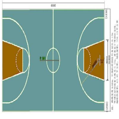 篮球场地坪 - 产品展示